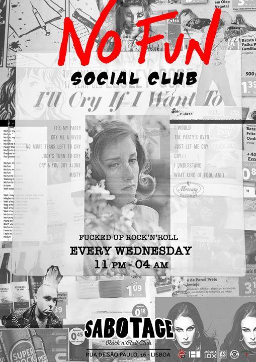 NO FUN Social Club - Sabotage