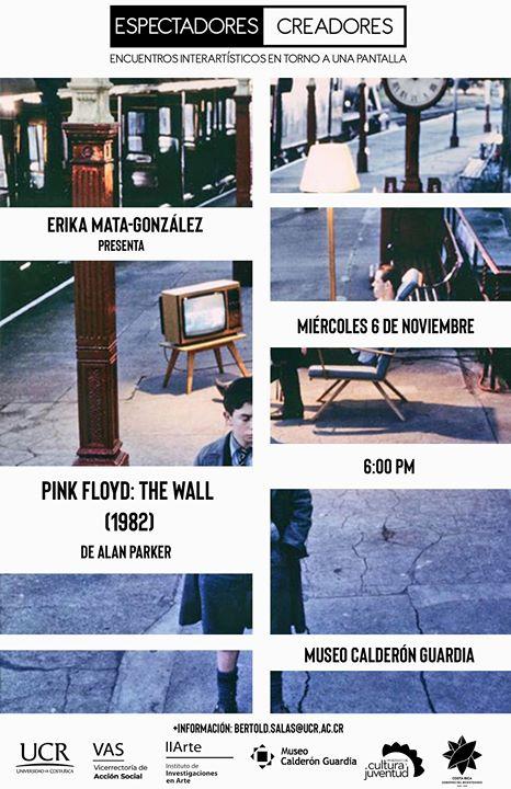 Ericka Mata-González presenta 'Pink Floyd - The Wall'