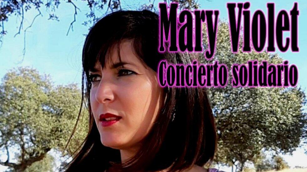 Concierto Acústico Solidadario Mary Violet