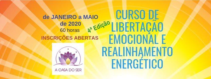 Curso de Libertação Emocional e Realinhamento Energético- Lisboa