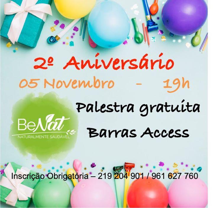 Barras Access - Palestra Gratuita