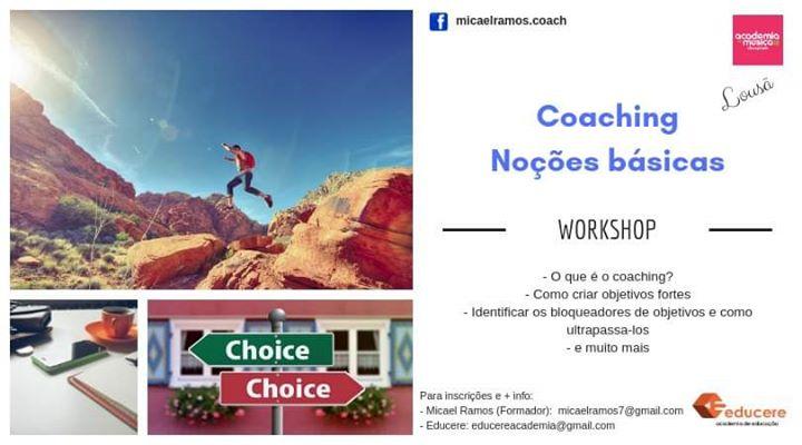 Workshop: Coaching - Noções básicas