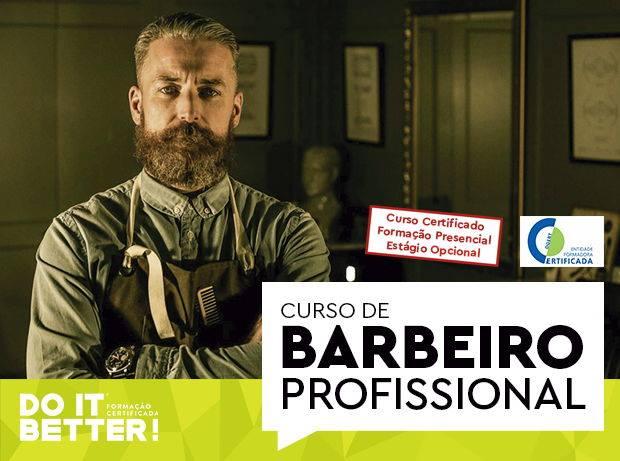 Curso de Formação Profissional de Barbeiro