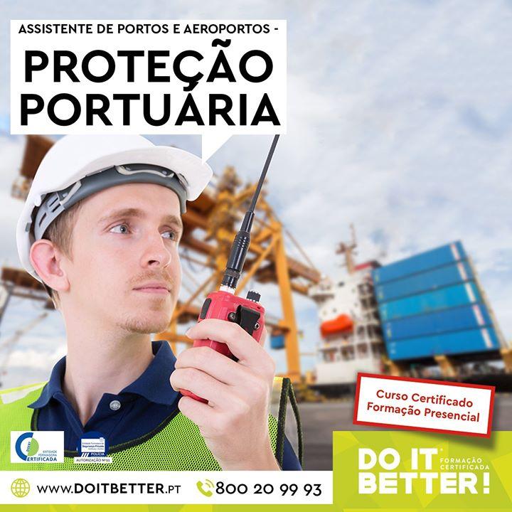 Curso de Assistente de Portos e Aeroportos