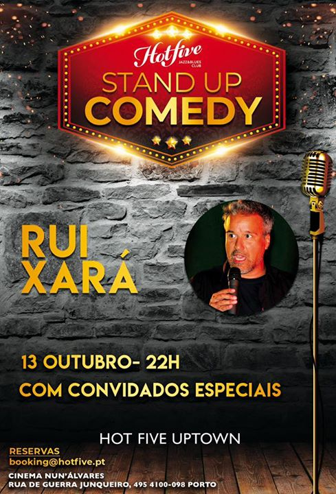STAND UP COMEDY / RUI XARÁ