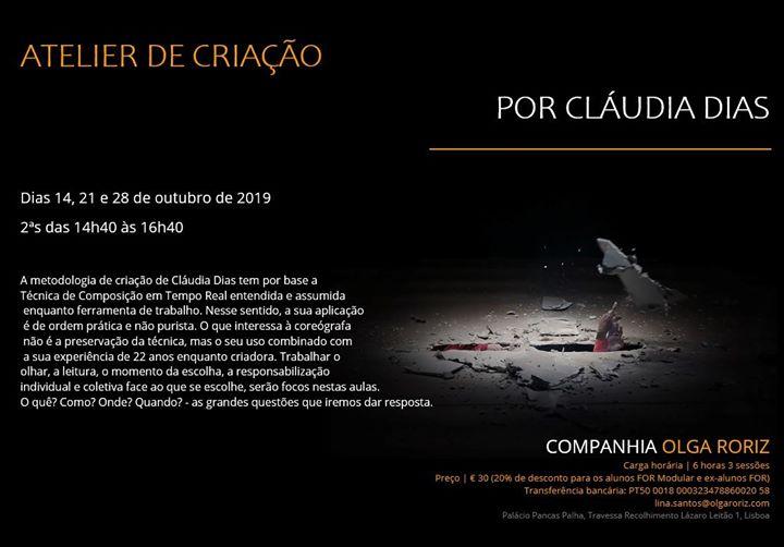 Atelier de Criação por Claúdia Dias