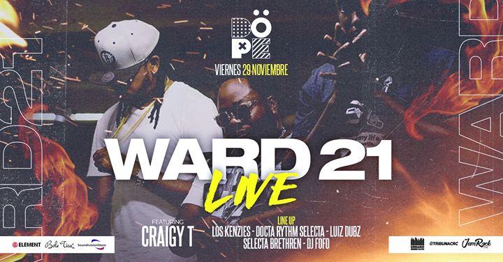 WARD 21 LIVE | DOPE CLUB 29 de Noviembre