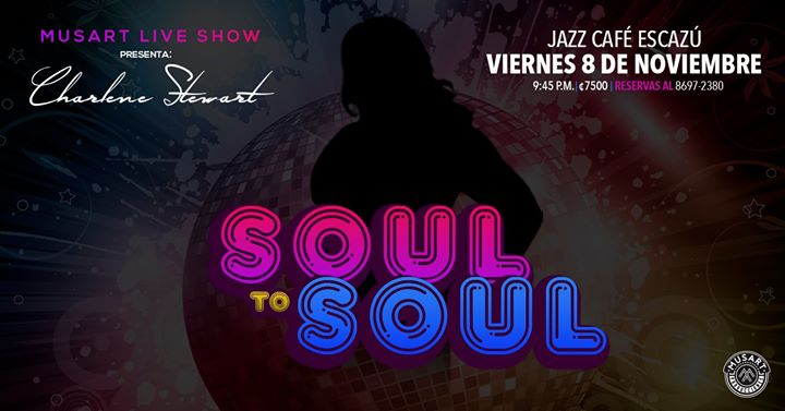 MusArt Live Show - Soul to Soul by Charlene Stewart
