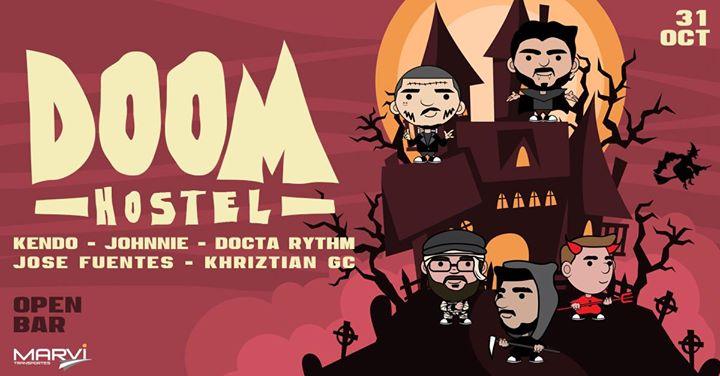 DOOM Festival (Hostel Edition) • #HalloweenParty