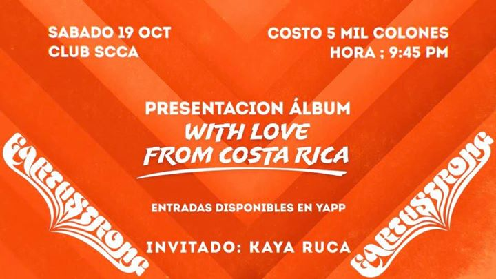Earthstrong presenta 'With From Costa Rica'