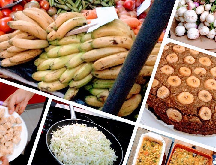 Aula Culinária Vegetariana - Cozinhar c/a 'Prata da Casa'