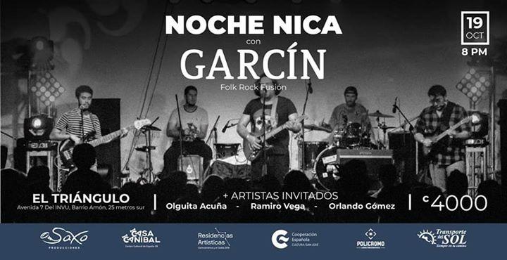 Noche Nica Garcín e invitados en el Triángulo Showroom Creativo