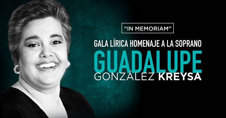 Homenaje Guadalupe González Kreysa