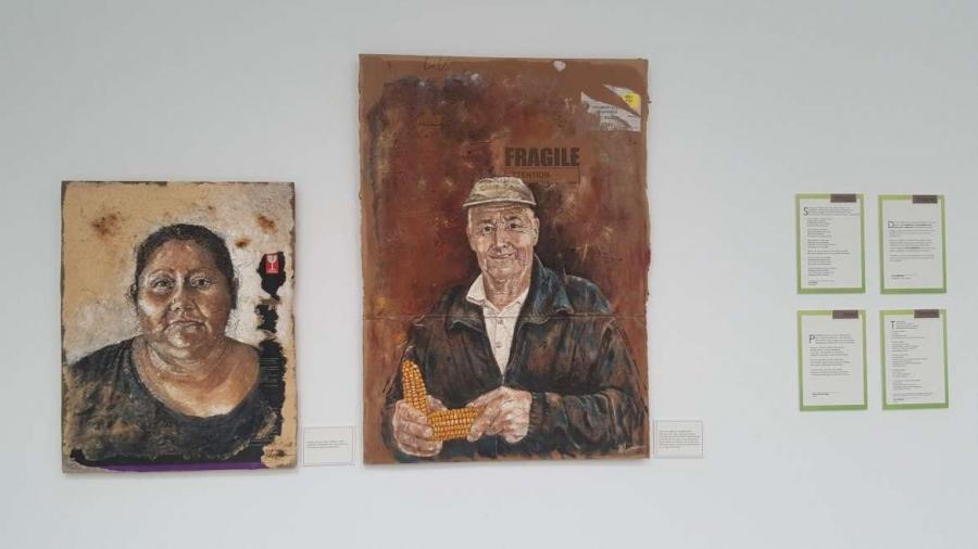 Exposición de pintura 'Frágiles' de Damián Retamar