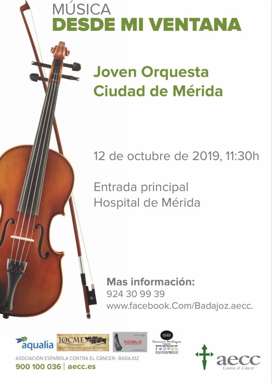 """Concierto """"Música desde mi ventana"""" de la Joven Orquesta Ciudad de Mérida"""