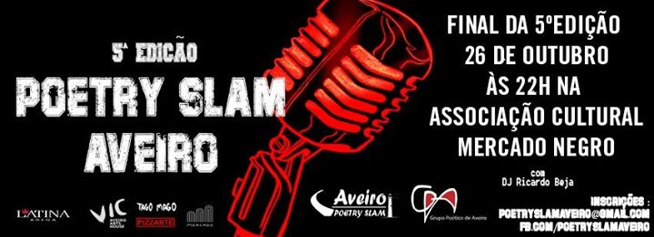 FINAL REGIONAL-Poetry Slam Aveiro
