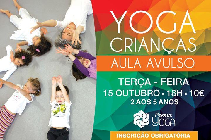 Yoga Crianças (Aula Avulso)