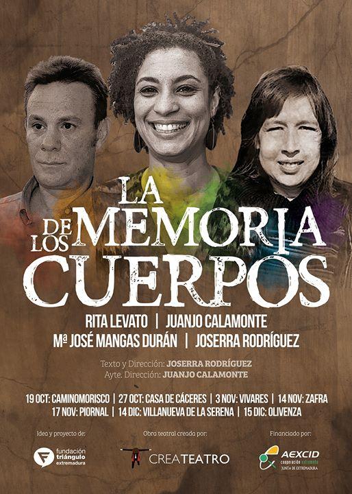 Teatro: La Memoria de los Cuerpos (Zafra)