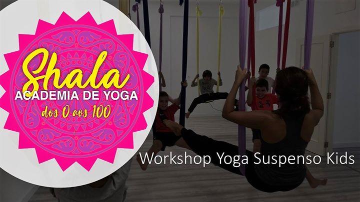 Workshop Yoga Suspenso Kids