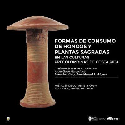 Conferencia:Consumo de hongos y plantas sagradas precolombino