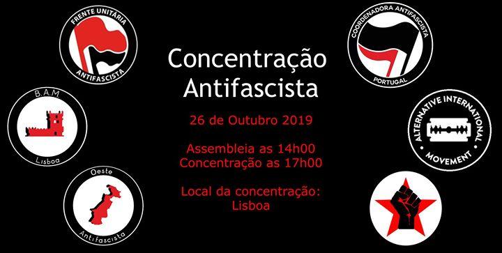 Criação da FUA - Sul + Concentração Antifascista