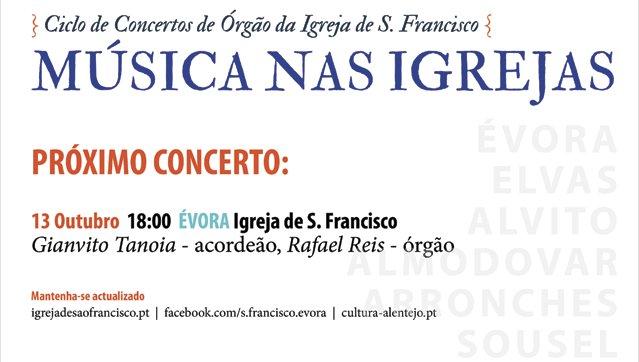 Concerto de acordeão e órgão