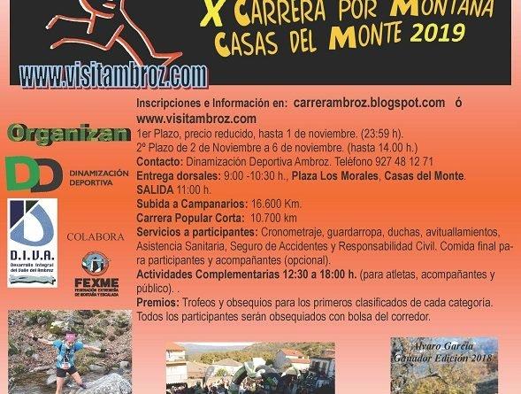 """X  Carrera por Montaña """"Subida a Campanarios"""""""