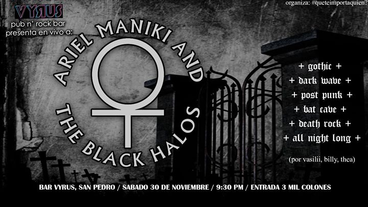 Concierto: Ariel Maniki and the Black Halos