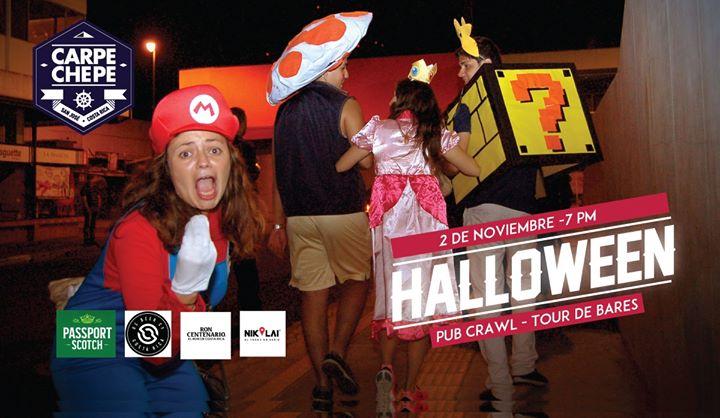Halloween Pub Crawl - Tour de bares a pie