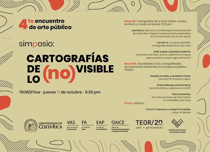 4to Encuentro de Arte Público. Simposio.