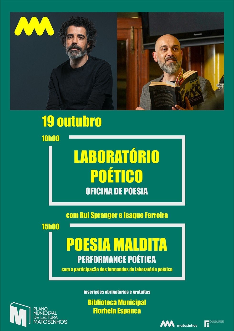 Rui Spranger e Isaque Ferreira