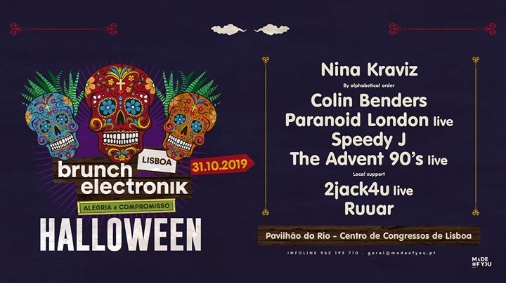 Brunch Electronik -In The City Lisboa - Special Halloween Party