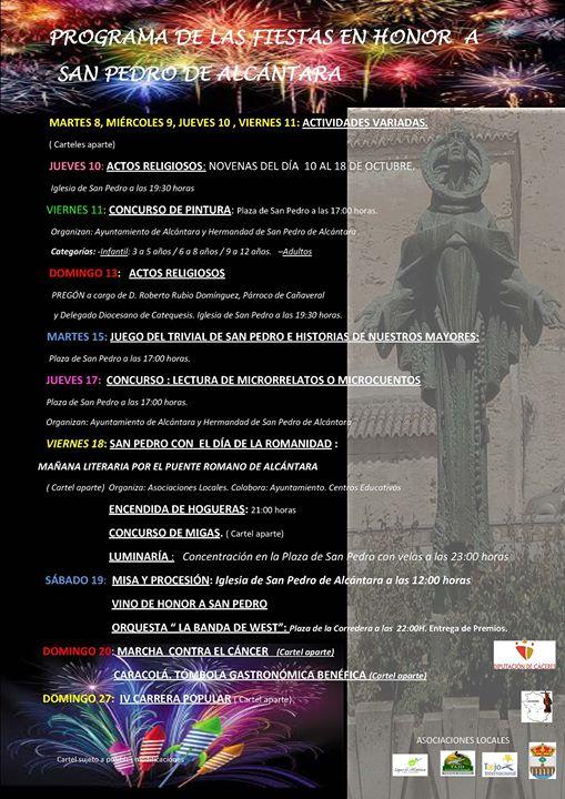 Fiestas de San Pedro de Alcántara