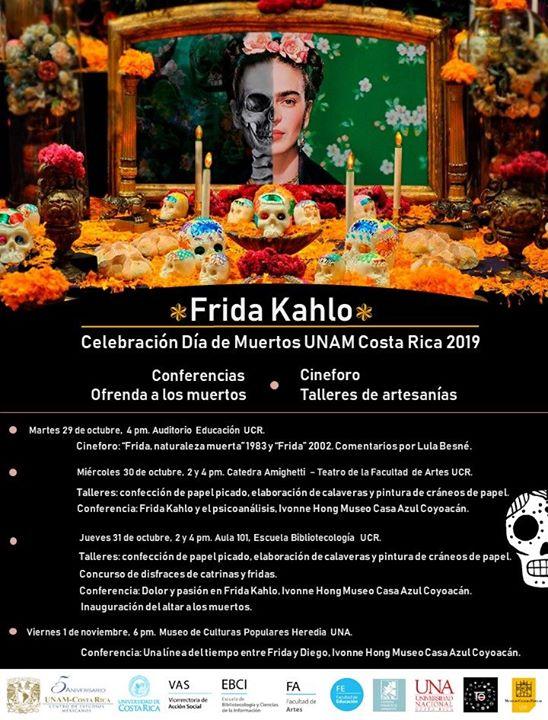 Celebración Día de Muertos CEM UNAM Costa Rica 2019