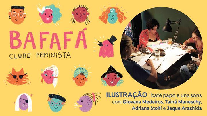 Bafafá - clube feminista | ilustração