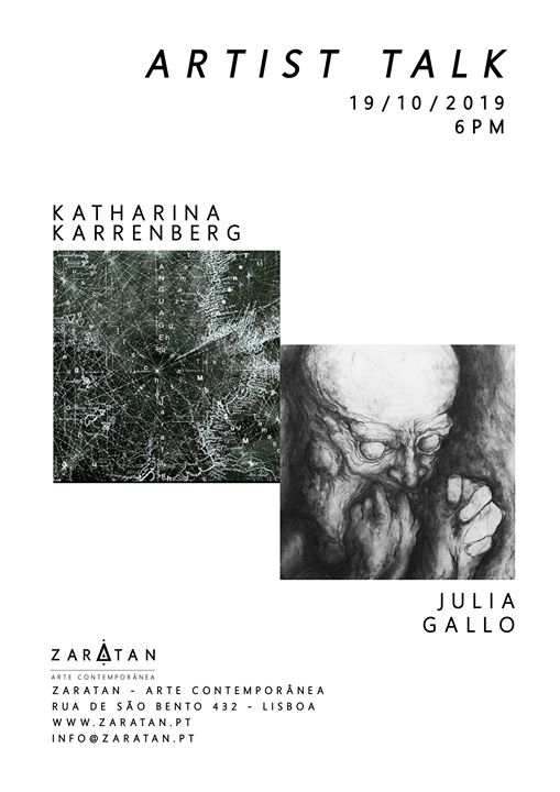 Artists Talk   Katharina Karrenberg & Julia Gallo