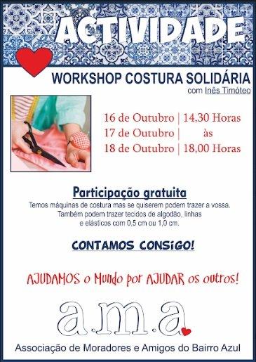 Workshop Costura Solidária