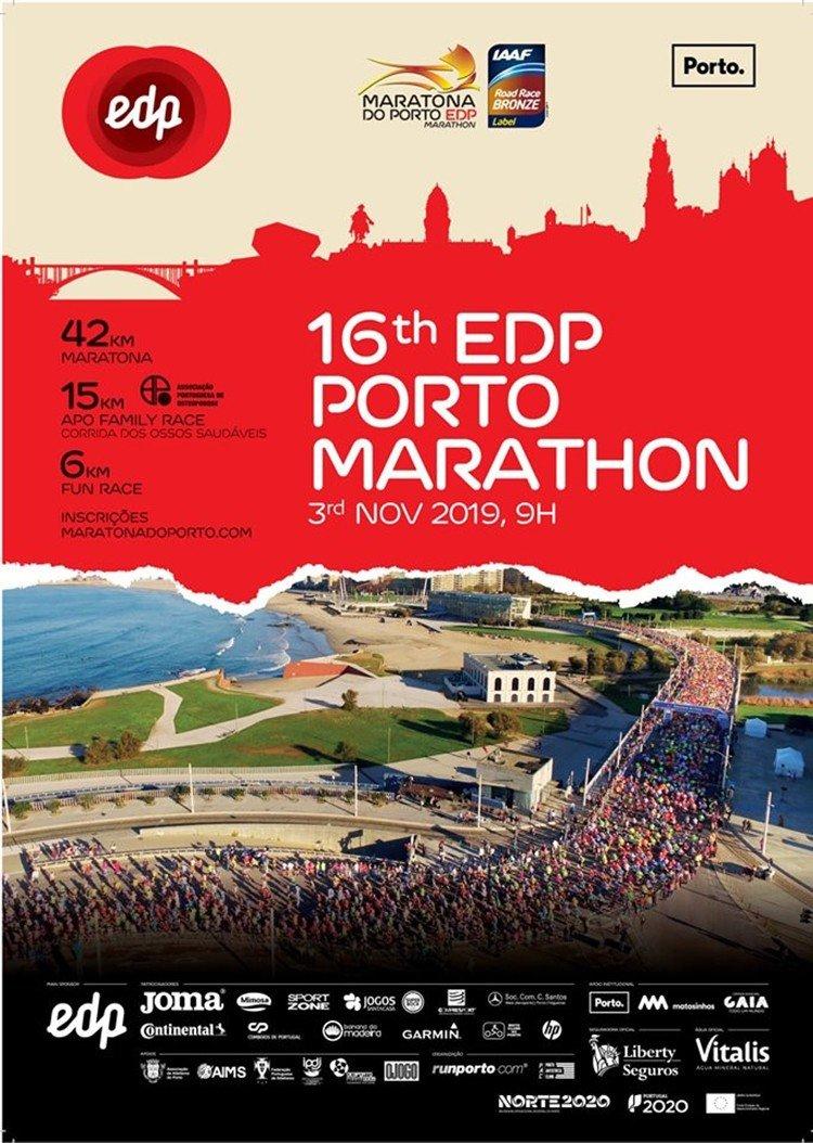 16.ª Maratona do Porto EDP