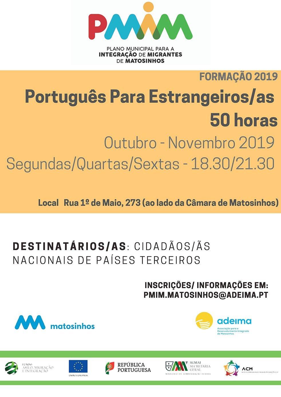 Português para Estrangeiros/as 50h