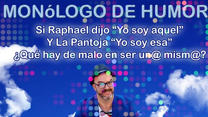 Ciclo Noches de Humor monologuista David Andrés