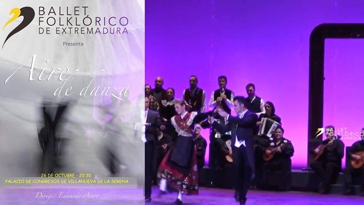 Aire de Danza' Ballet Folklórico de Extremadura