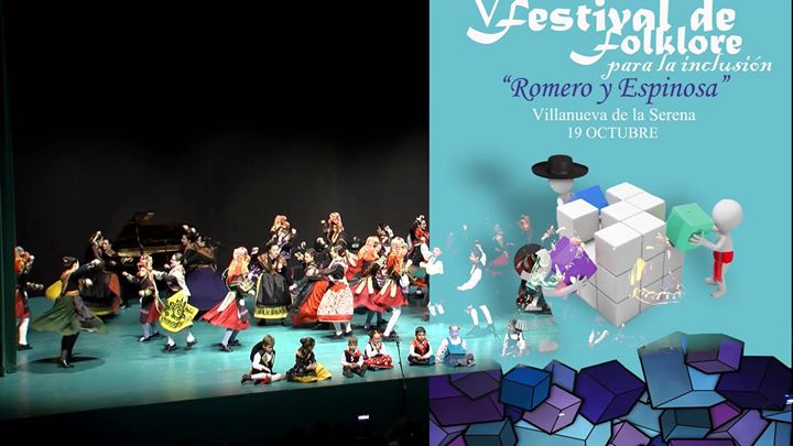 """V Festival de Folklore para la inclusión """"Romero y Espinosa"""""""