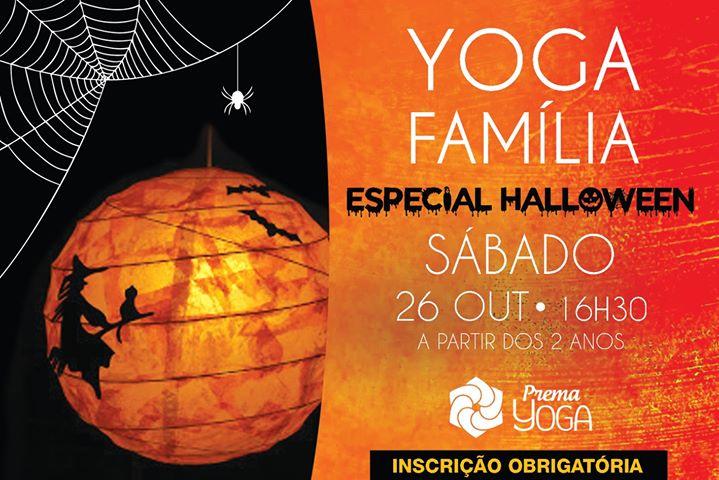 Yoga em Família - Especial Halloween