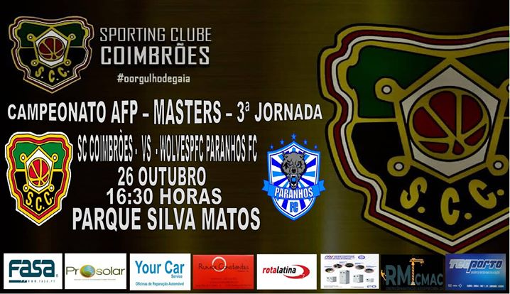 SC Coimbrões vs Wolves Paranhos FC
