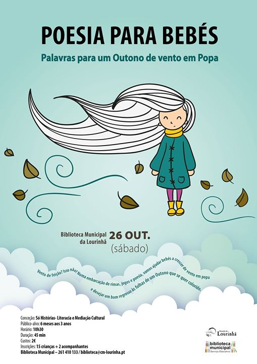 Poesia para Bebés | outono de vento em popa
