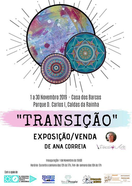 Exposição/Venda de Pintura 'Transição'