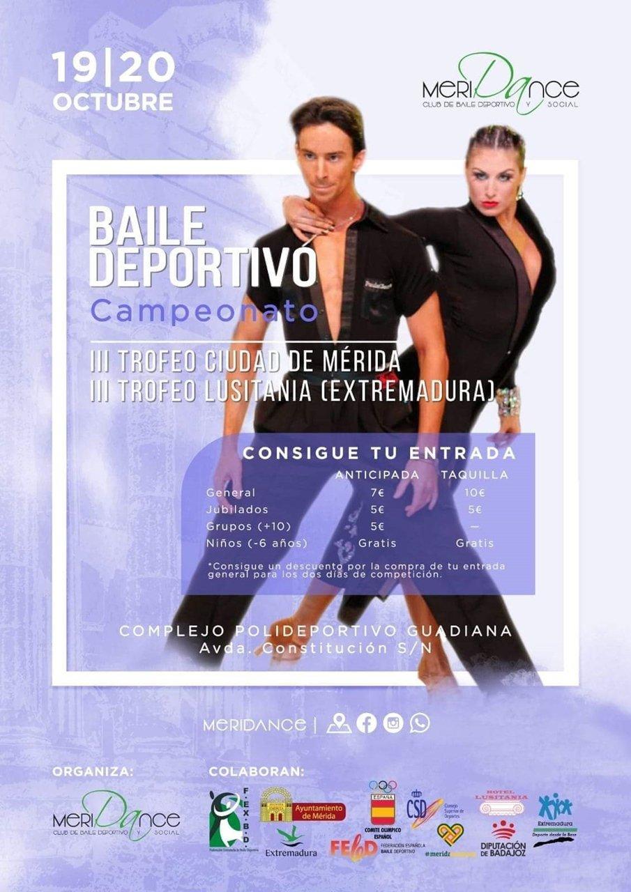 III Trofeo Ciudad de Mérida Baile Deportivo