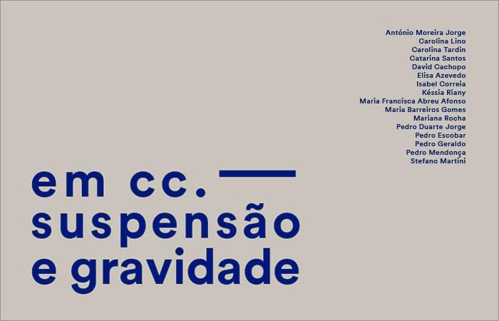 Finissage // em cc. — suspensão e gravidade