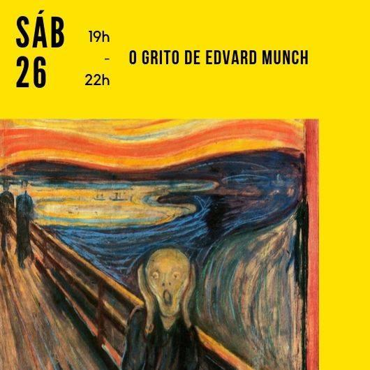 Pintar O Grito de Edvard Munch 2 Nov 19h - 22h