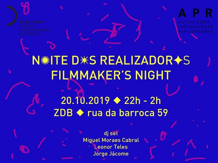 Noite dos realizadores - Filmmaker's night @doclisboa